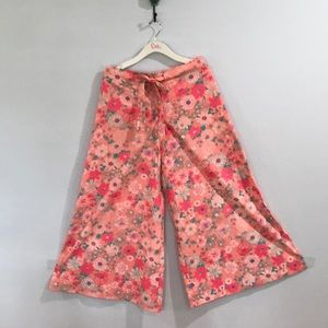 VINTAGE LILLY PULITZER PALAZZO GAUCHO PANTS